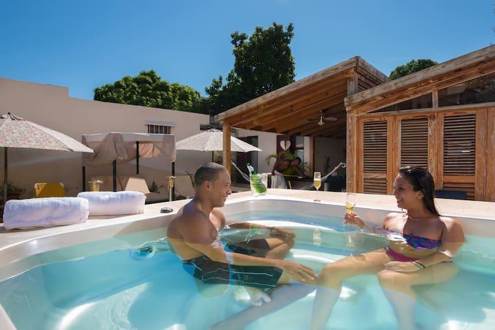 Colonial 1 bed apt pool & breakfast - Santo Domingo - Oda + Kahvaltı