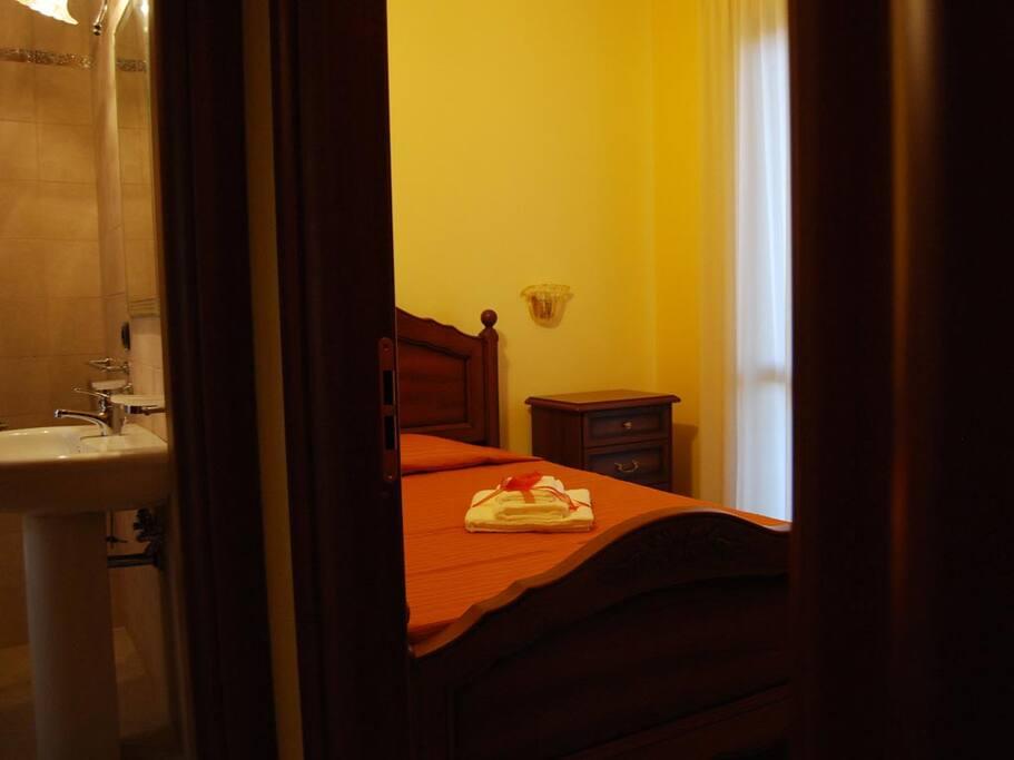 Seconda camera con letto ad una piazza e mezza