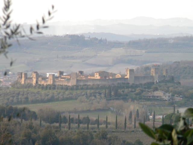 Casa sulla Francigena a Monteriggioni