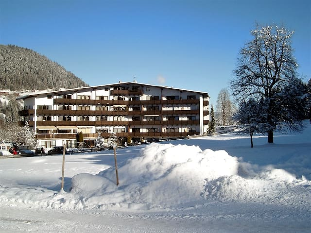 At ski piste - Apartment Kitzbühel - Kirchberg in Tirol - Apartamento