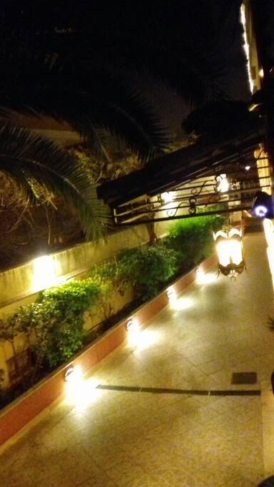 Illuminazione vialetto d'ingresso