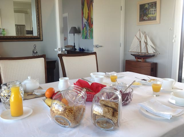 @Taupo hosted bed and breakfast