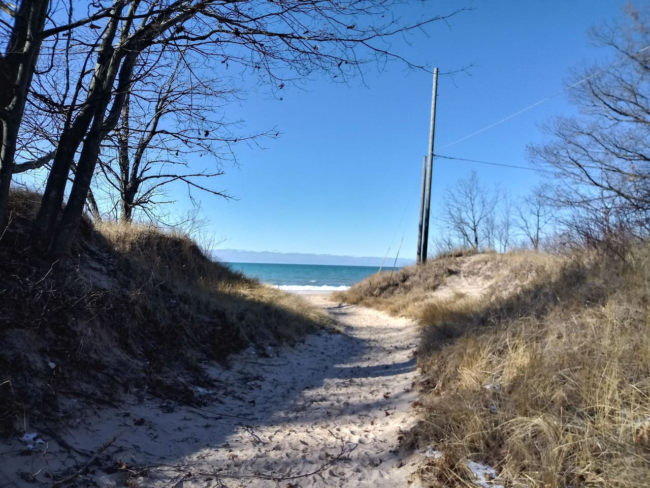 Welcome to Silver Lake and Lake Michigan beauty