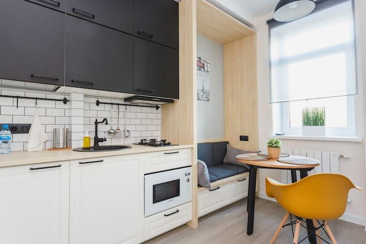 Изысканные апартаменты в самом центре столицы