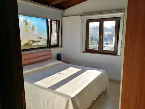 Oceanview penthouse in the Greek area