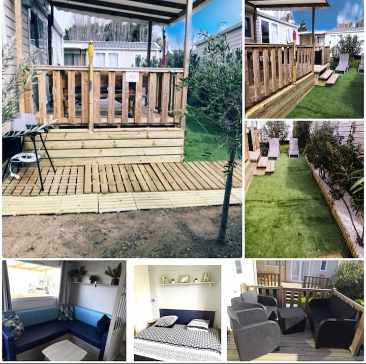 Location Mobil Home Narbonne Plage
