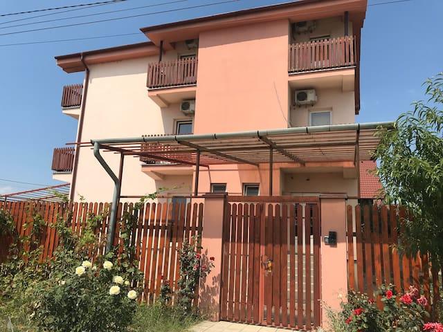 Modern villa with cozy rooms