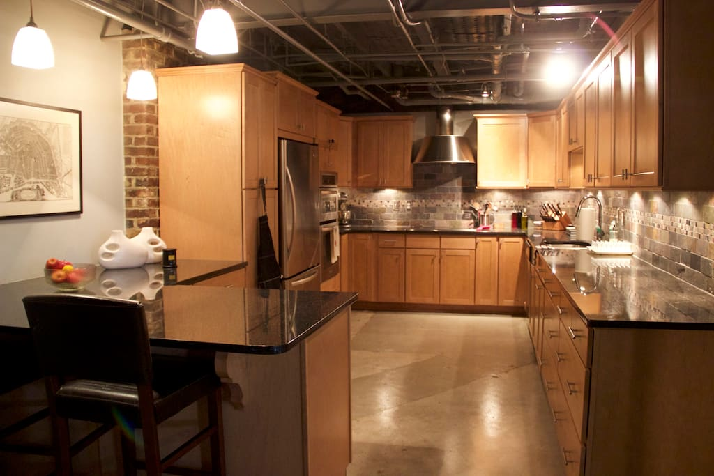 Plenty of kitchen space to whip up a killer meal
