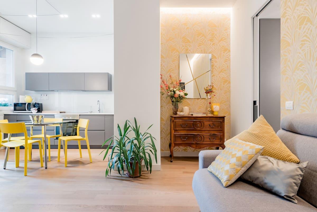 Allegro appartamento con terrazzino nella vecchia Milano