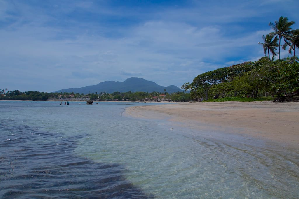 Playa Cofresi - a beach that is great for children due to it's calm waters