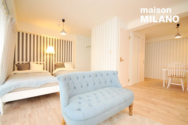 506 Renovated Private Apt★Central★Midosuji★32㎡