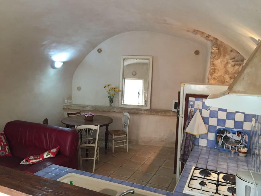 Coin cuisine - salon