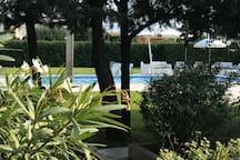 Villa con piscina Marina di Leporano