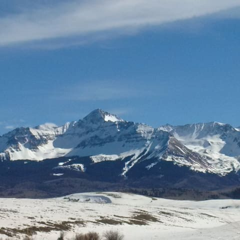 Spectacular view on ranch near Telluride, CO - Telluride