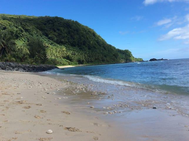 Kings Place... Poloa Beach, American Samoa - Pago Pago - House