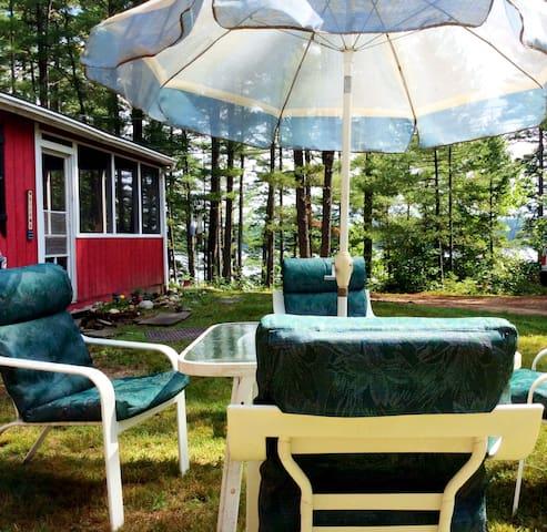 Cranberry Cottage, 18 mi. Portland - Buxton - Blockhütte