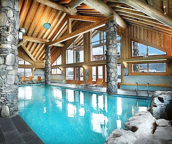 Super T3 en résid. de tourisme - skivallandry