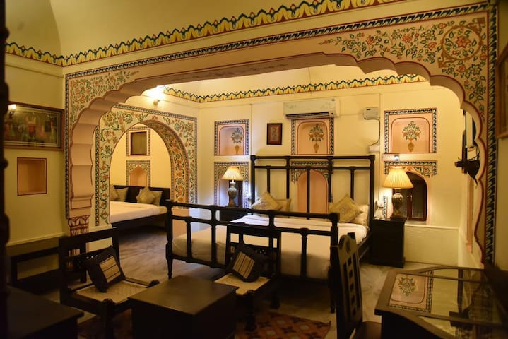 Deluxe Heritage Room in Mandawa Rajasthan