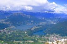Il bellissimo panorama dell'Alta Valsugana