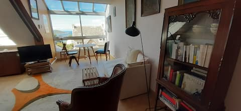 Charming flat with a nice seaview Côte Granit Rose
