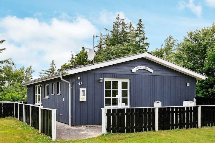 Grande maison de vacances avec terrasse à Thyholm