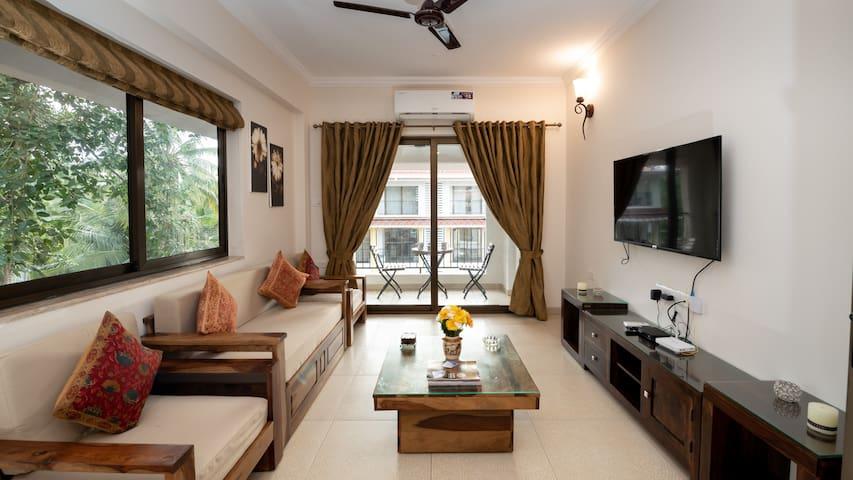 Onastay at Candolim Manolita 2 Bedroom + Terrace