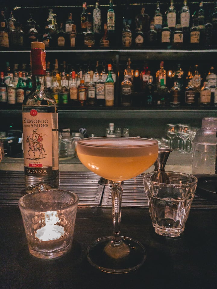 Great cocktail in Speakeasy bar