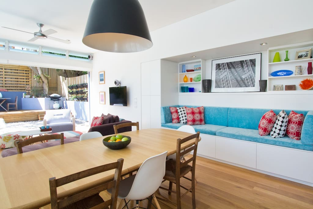 relax on our banquette