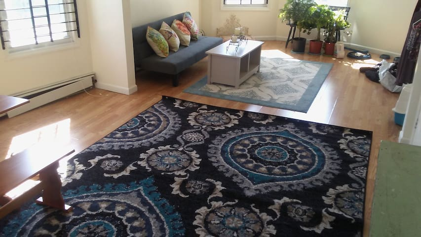 Large, Sunny 3 Bdrm Apartment for 6+ Close to NYC - Newark