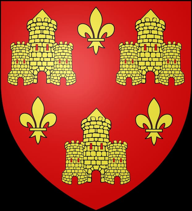 Chinon coat of arms.