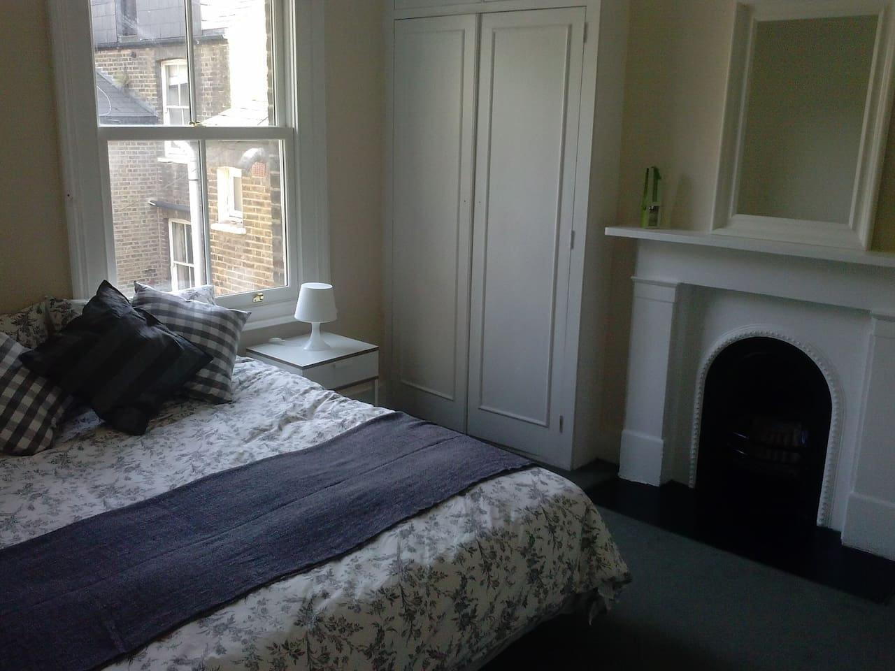 Large double bedroom, perfect for single or couples