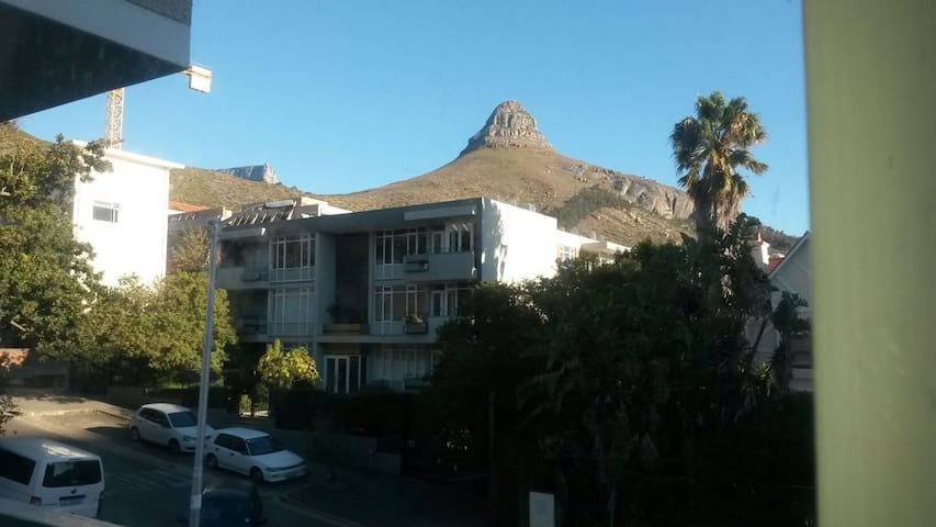 Be at home in Sea Point! Spacious bright room - Kapstadt - Wohnung