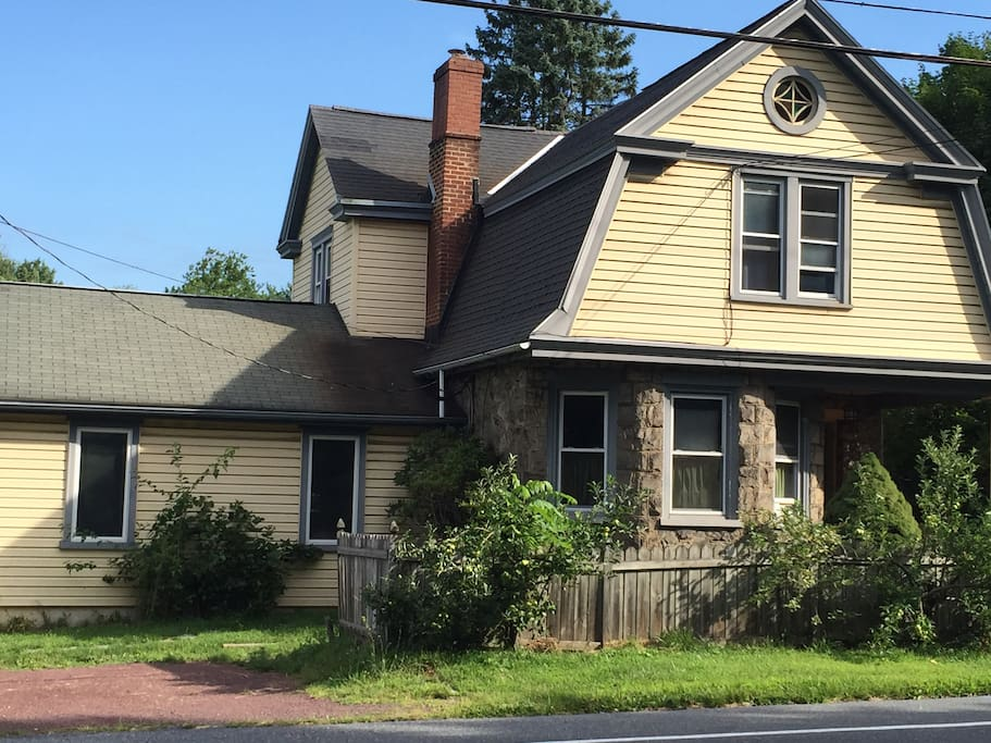 Home as seen from the street.