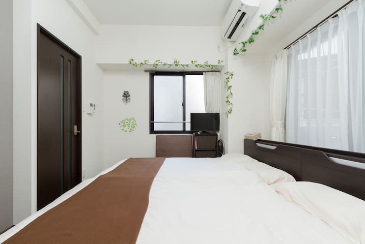 Central Osaka. Stylish & New! Renewal open price! - Osaka city - Apartament
