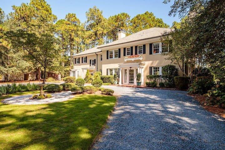Knollwood House - Pinehurst/So.  Pines 5BR/5+Ba
