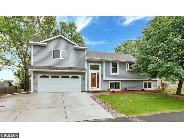 Cozy Two Bedroom Bed and Breakfast in Maple Grove