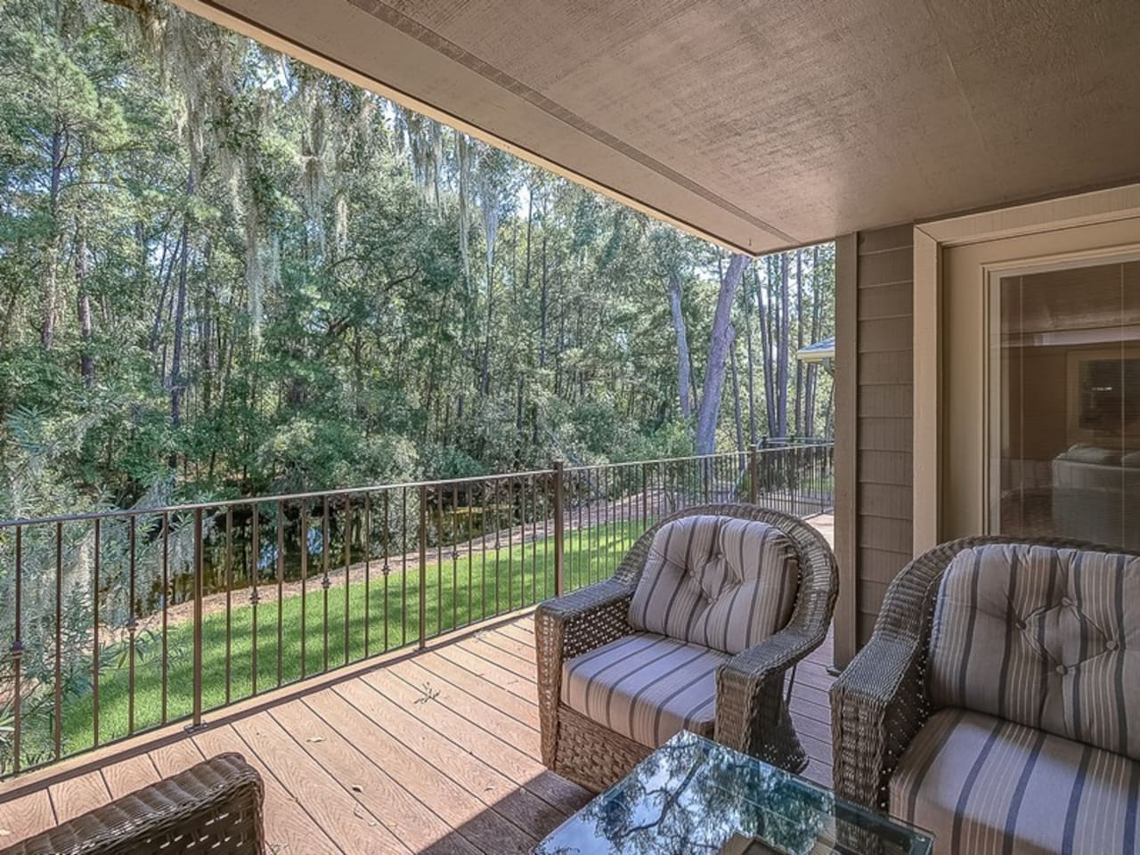 Enjoy Peaceful Lagoon Views from Back Deck at 48 Shell Ring Road