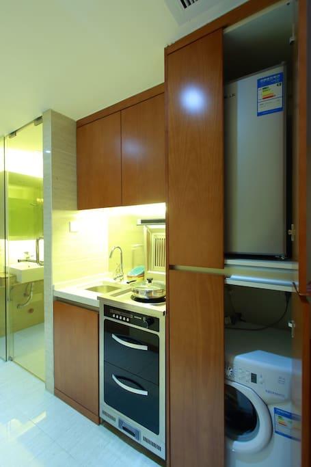 厨房区域/冰箱/洗衣机