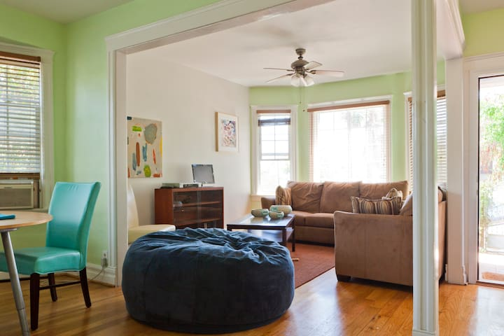 Plan your adventure or rest and recharge in our living space