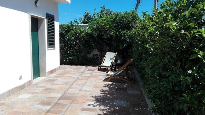 Pretty Tonia's cottage-sul mare e a 5'da aeroporto