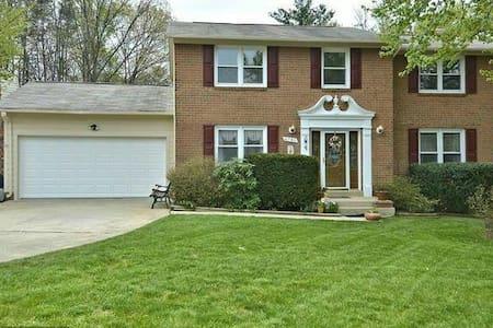 Home Sweet Home next to GMU - Fairfax - Casa