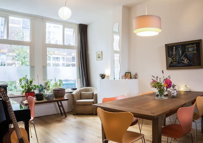 A large and cozy home - Dordrecht - House