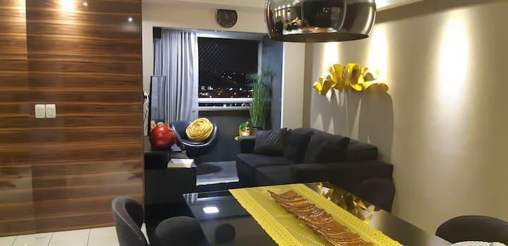 Apartamento Top em Maceió (Acomoda 4)