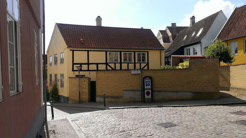 Bindingsværkshus fra 1850. - Haderslev - House