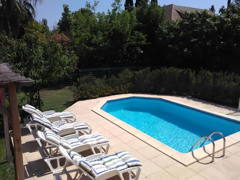 Farniente maisons de ville louer p zenas languedoc - Pezenas piscine ...