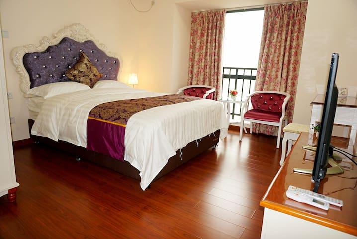 欧式浪漫大床房 - Guangzhou - Apartamento