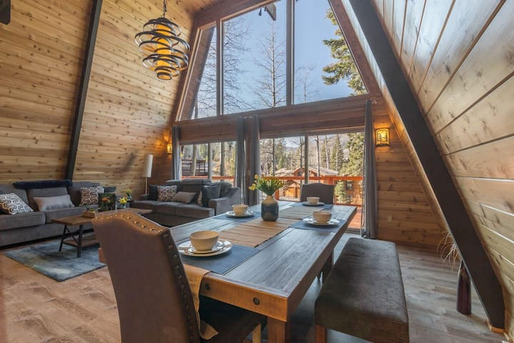 Remodeled Alpine Meadows A-Frame