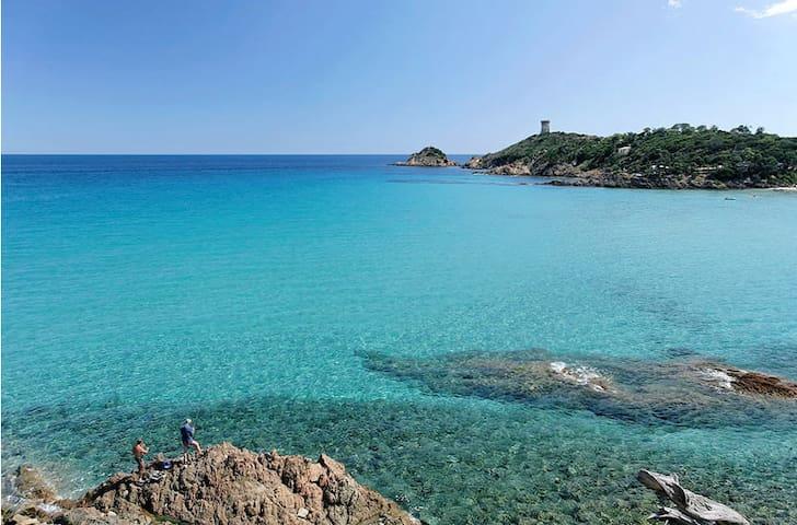 Gîte vue mer Corse du sud - Sollacaro - Přírodní / eko chata