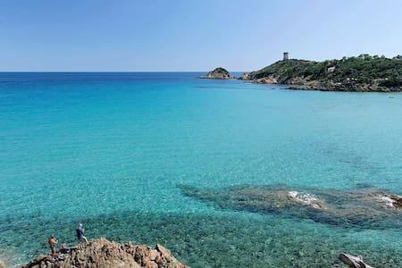 Gîte vue mer Corse du sud - Sollacaro - Luontohotelli