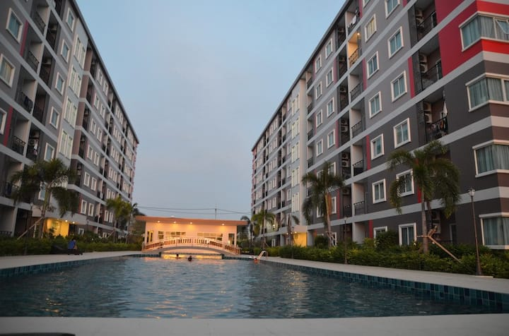 Comfortably & cozy condominuim in Pattaya Thailand